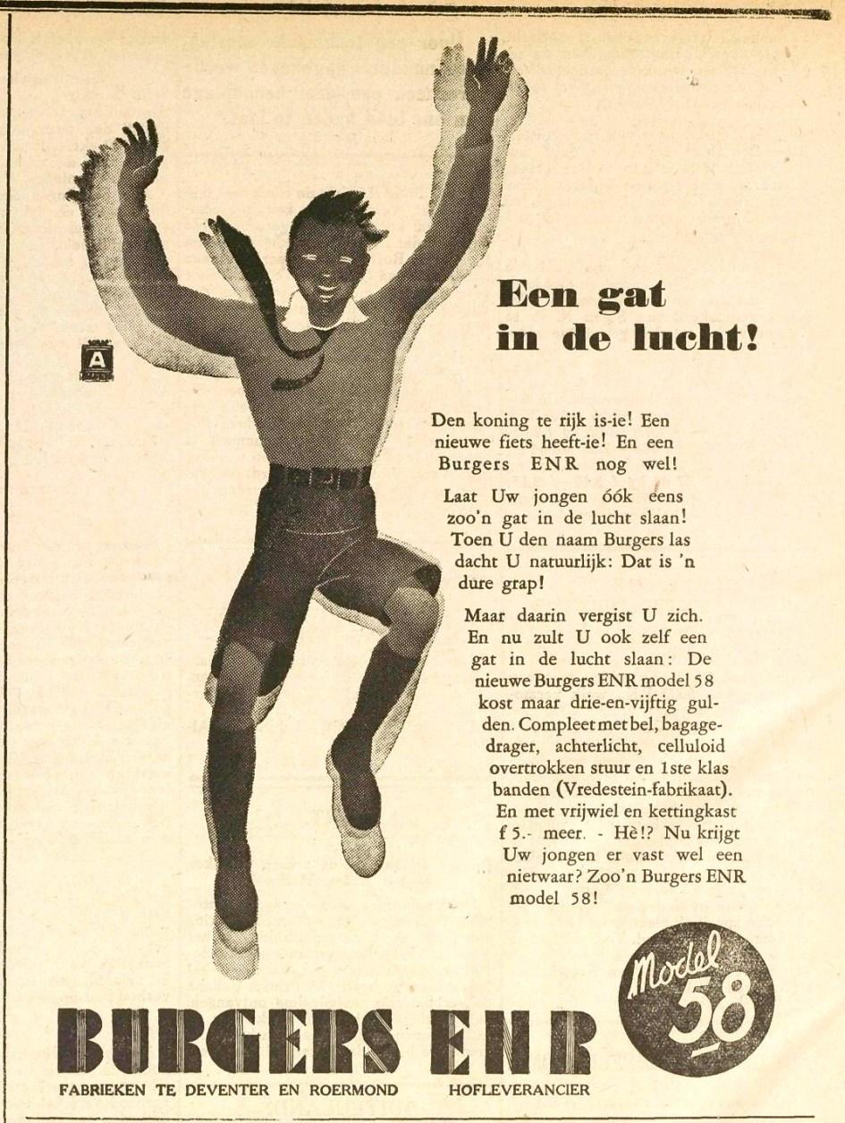 Advertentie Burgers. Middelb. courant 1932-06-16