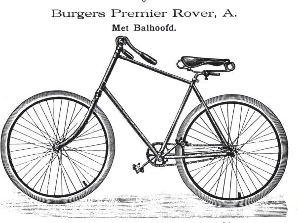 Rover A, catalogus 1893