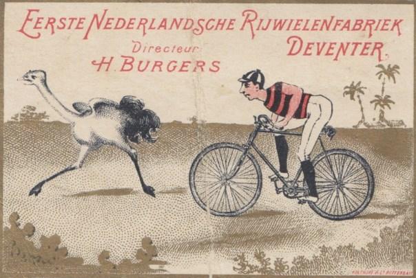 reclamefolder Burgers excentric gear