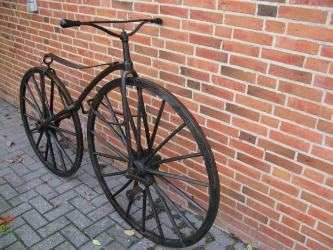 Burgers vélocipède van koning Willem III ca. 1870