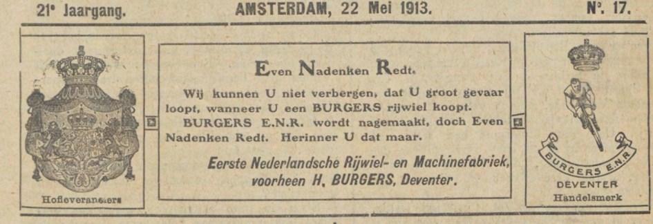 Het sportblad 22-05-1913