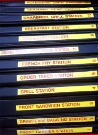 Burger Tyme Manuals