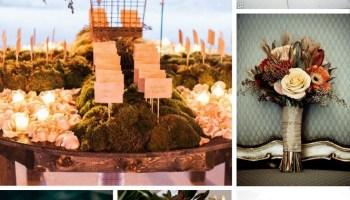 Plum, Marsala, & Sage Green Wedding Inspiration - Burgh Brides