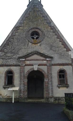 La chapelle Sainte Anne au coeur du cimetière de Saint-Fargeau. ©Amandine Chevallier
