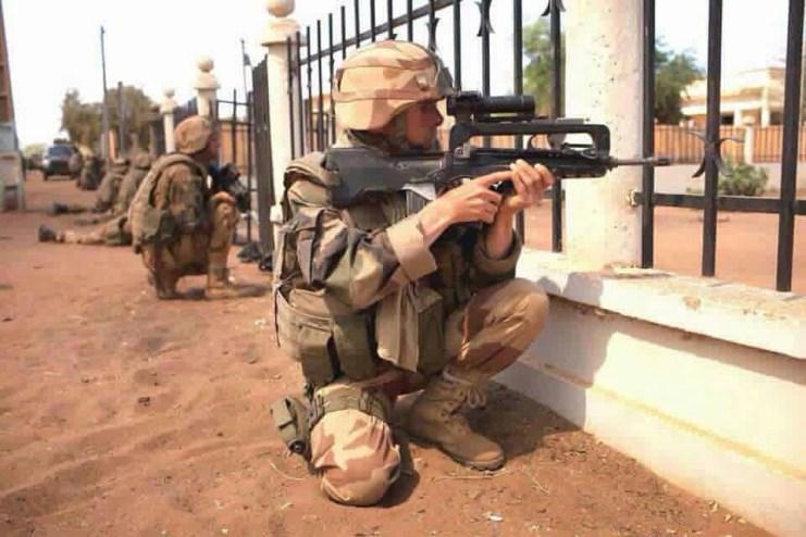 Soldado de EEUU en Libia