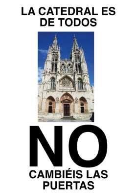 la catedral es de todos. Puertas no
