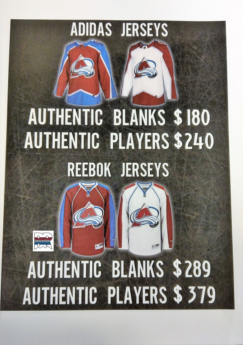 Adidas Pricing Comparison Sheet