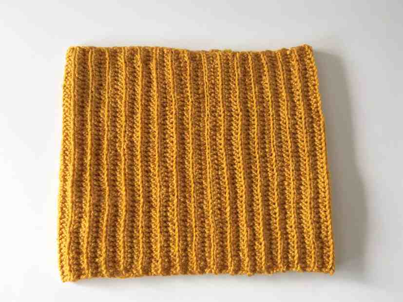 Free cowl crochet pattern