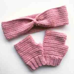 free crochet mittens pattern