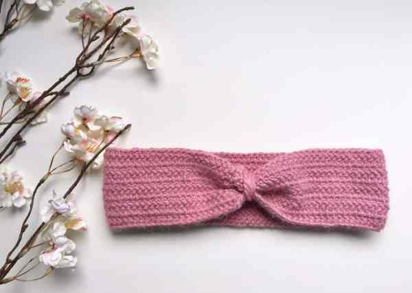 Honeysuckle Herringbone Headband by Tahryn @ Burgundy & Blush