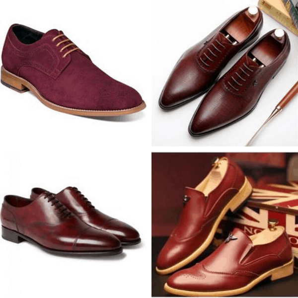 Burgundy Shoes for Men smart casual wear for men mens dressing tips what to wear in autumn men