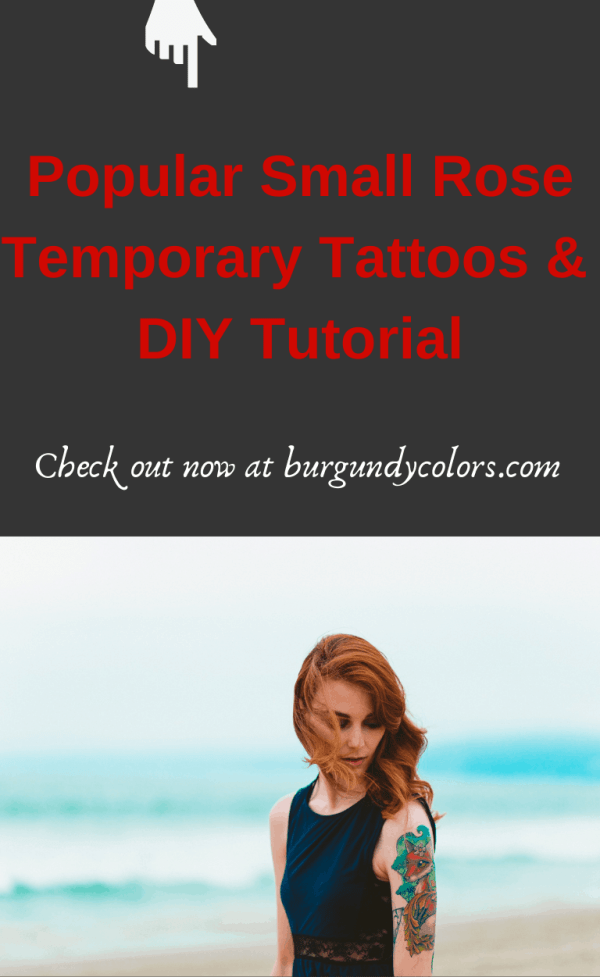 Download 7 Pages Small Rose Temporary Tattoos & DIY them For FREE with 3 Easiest Hacks (Popular on TikTok 2021) Can you get temporary realistic-looking fake tattoos for cheap at home? YES, OF COURSE! This can be a simple fun mini DIY project for your upcoming Halloween or Valentine's day outfit. Also if you are considering getting a real tattoo but still researching to decide on tattoo location, the size, the color, and the exact design, then why not test a temporary fake one first? Check out our tutorial on how to get a homemade temporary tattoo.