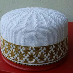 White and Golden Topi available of all sizes