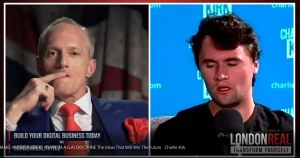 The Make America Great Doctrine – London Real Tv Video Report.  Interview with Charlie Kirk.