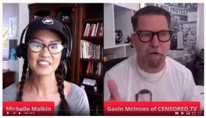 Michelle Malkin, Interviews with the Banned Part 3 – GAVIN MCINNES