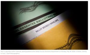 Texas Supreme Court: Lack of immunity to COVID-19 alone not enough to vote by mail
