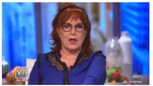 On Wednesday's The View (The Coven), Joy Behar was already floating conspiracies about the legitimacy of the upcoming presidential election, by claiming that if Trump wins, it's because his party cheated.  The Hateful Left is Coming Unglued.
