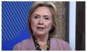Hillary Clinton Desperate To Be Seen As Relevant.