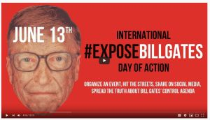 Expose Bill Gates Global Day of Action – June 13th
