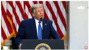 """President Trump Promises To Protect Country; US Riots' """"Above and Below"""" Tactics, Video Report 'Crossroads' with Joshua Philipp"""