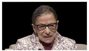 2016 Flashback: Ruth Ginsburg Says Kneeling For National Anthem Is 'Dumb And Disrespectful… Terrible Thing To Do'