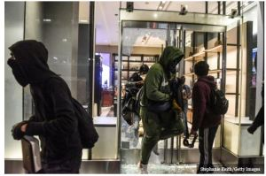 Looters Grab $2.4 Million Worth of Watches from Soho Rolex Store – Store Owners Lives Don't Matter.