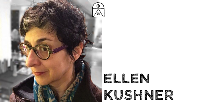 A picture of Ellen Kushner.
