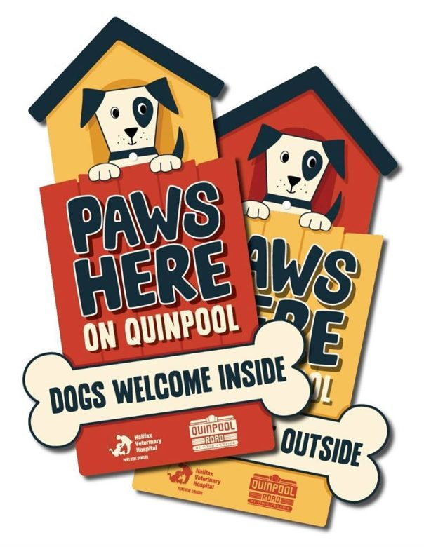 Paws Here on Quinpool - Dogs Welcome Inside