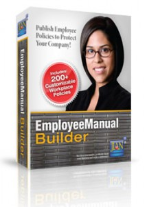 Employee Manual Builder workplace policies handbook software template