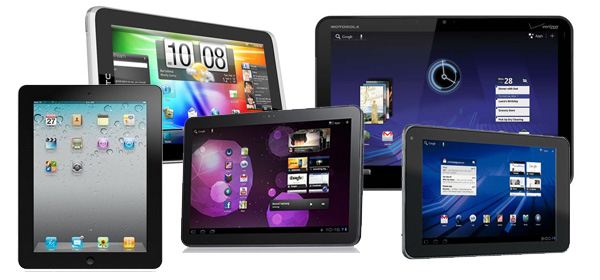 Aperçu de Tablettes, outils généralement utilisés par les populations pour naviguer sur Internet.