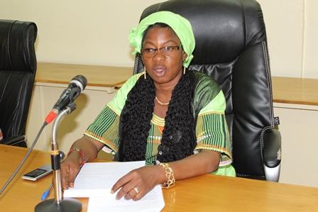 Madame Béatrice Bara/Sawadogo, maire de la commune rurale de Béguédo
