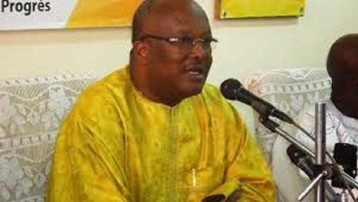 R.C. KABORE, candidat du MPP à la présidentielle de 2015