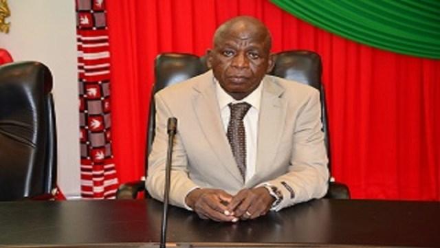 Le président de la commission d'enquête parlementaire, Simplice PODA