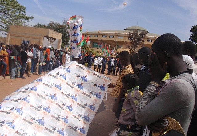 Une mascotte ambulante du président Kaboré