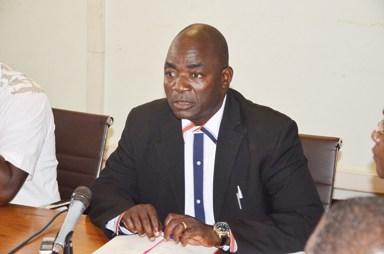 Bassolma Bazié, président du mois de l'UAS,  a exclu toute trêve sociale