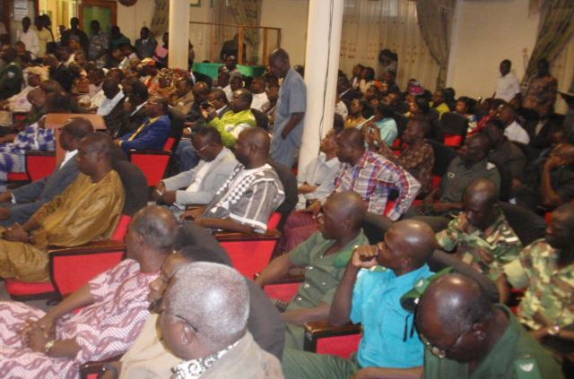 Forte mobilisation des agents du ministère pour la cérémonie