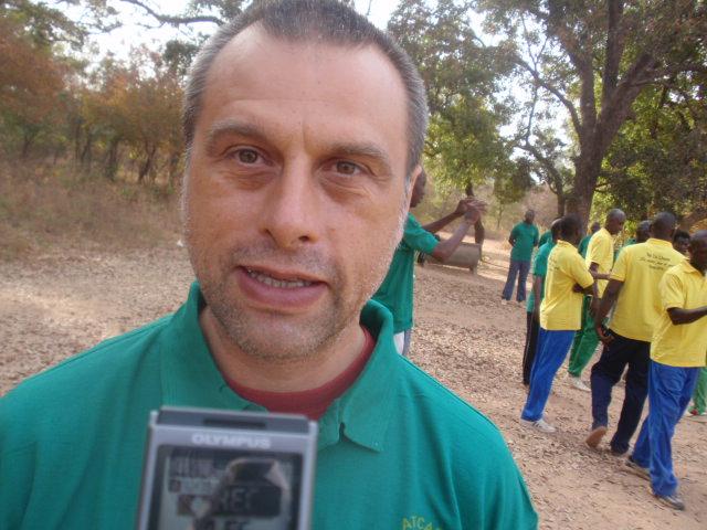 Hervé Marest, formateur : «La bonne graine de tai-chi est semée au Burkina»