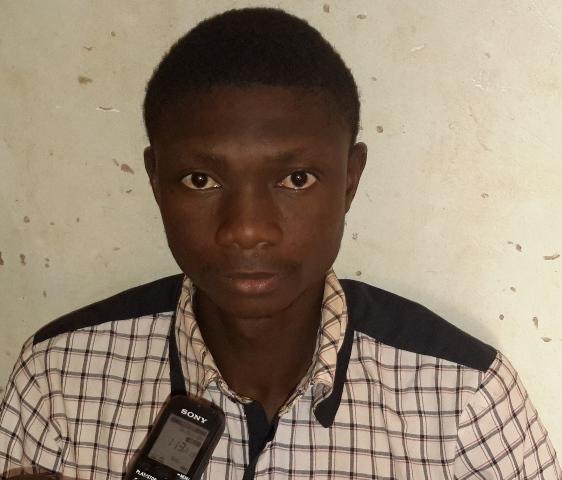 Aboubacar Ouédraogo, étudiant : ''Il a été assez réaliste sur les problèmes du pays''