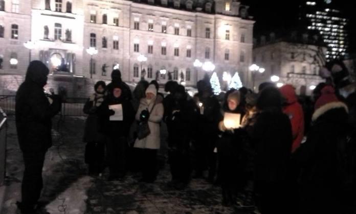 Malgré le froid hivernal, ils étaient nombreux à répondre présent à l'appel patriotique