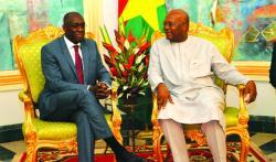 Le tête-à-tête entre Makhtar Diop et le président Roch Kaboré est porteur d'espoir pour le secteur de l'énergie