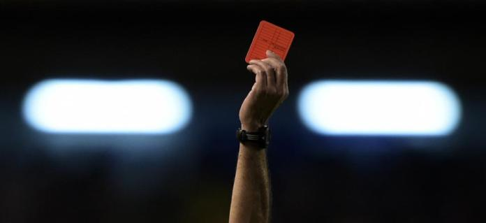 Ce carton rouge a été fatal Diégo Abal
