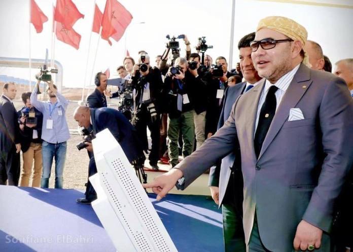 Mohammed VI inaugurant ce 4 février la centrale solaire Noor I dotée d'une puissance de 160 mégawatts