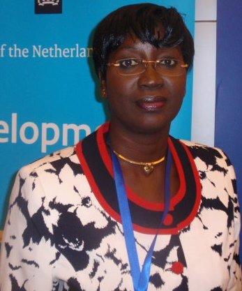 La ministre de la Femme, de la Solidarité nationale et de la famille, Laure Zongo/Hien