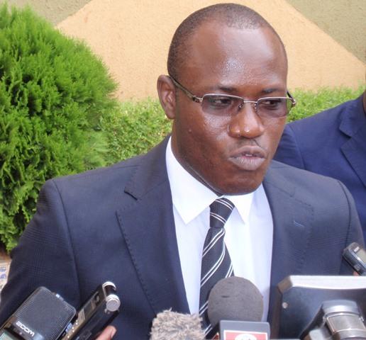 Le Pr Abdoulaye Soma, président du comité d'organisation du colloque, s'est félicité de la mobilisation autour de cette initiative de la Société Burkinabè de Droit Constitutionnel