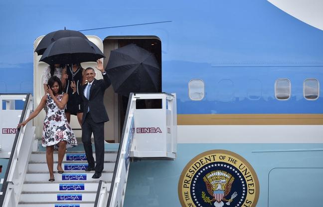 L'arrivée d'Obama à La Havane ce dimanche sous une pluie bienfaisante