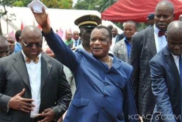 Le président Denis Sassou N'Guesso savoure malgré tout sa victoire