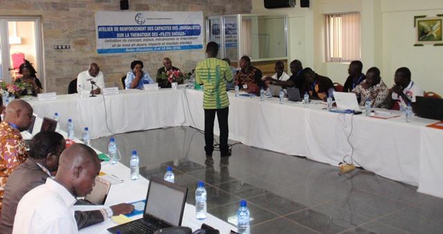 L'atelier a mobilisé une trentaine de journalistes de Ouaga et de Bobo