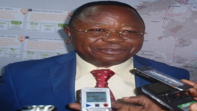 Kapanji Kalala, chargé de mission de l' Agence pour le développement et la promotion du Grand Inga