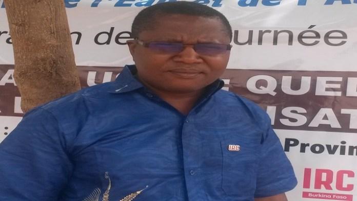 Firmin Hilaire Dongobada, responsables des opérations de IRC Burkina, se veut optimiste
