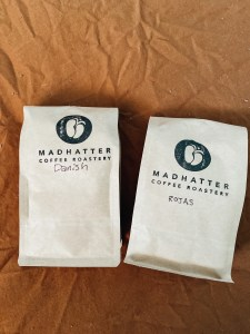 coffee from madhatter coffee roastery